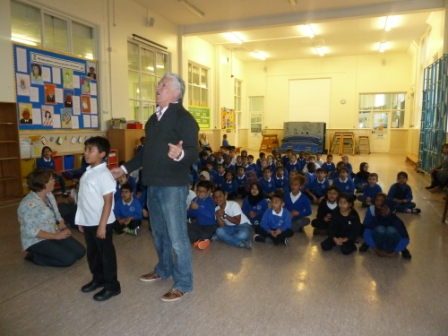 Ninian Park Primary Pupils Tune Up With Welsh Theatre Star Karrie Cardiff Times