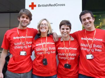 British red cross fundraiser