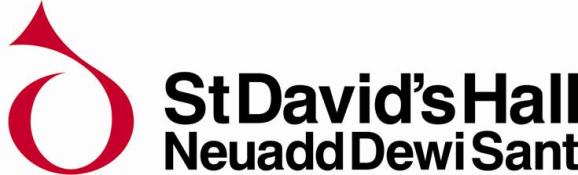 st davids hall logo