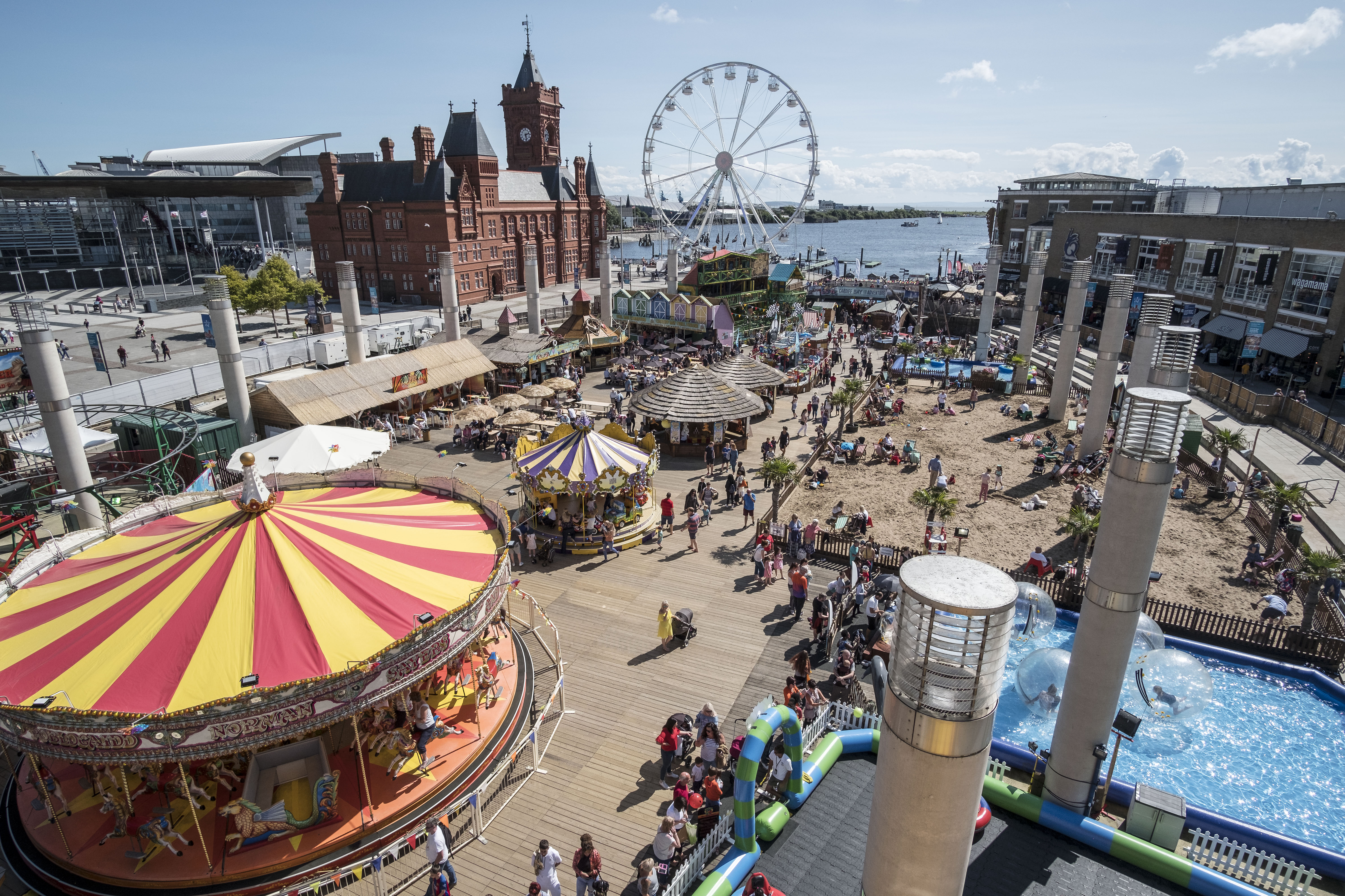 Capital FM Cardiff Bay beach to become a bigger theme park